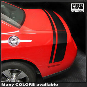 Dodge Challenger Scat Pack Style Rear Stripes Decals 2015 2016 2017 2018 2019
