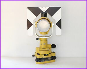 New Topcon Single Prism W tribrach Set System For Topcon Total Station Surveying