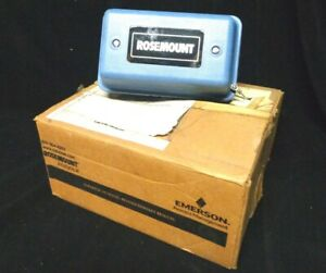 New In Box Rosemount Analytical Emerson Process Management Junction Box 23550