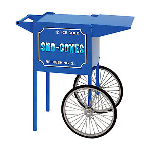 Paragon Snow Cone Cart Small Made In Usa