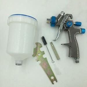 Air Spray Gravity Gun Paint Hvlp Feed New 1 Kit Auto Pressure Tool Mini Sat1173