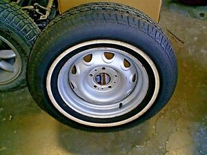 Dodge Mopar Plymouth 14 Rally Rim Tire Fr78 14 Challenger Dart Barracuda