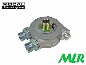 Mocal 3 4unf Oil Cooler Take Off Plate Thermostat Sierra Escort Cosworth Srk2