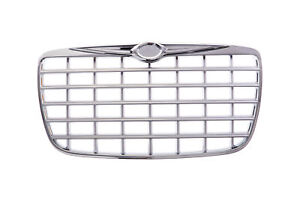 New Front Grille For Chrysler 300 Chrome Chrome silver Ch1200275 4805926ac