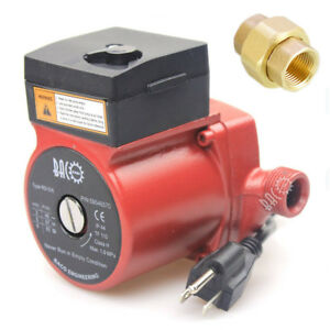 110v 3 speed Hot Water Cast Iron Circulating Pump Circulator Pump 130mm 3 4 Npt
