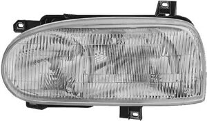 Headlight Assembly Front Left Hella H11649011 Fits 93 99 Vw Golf