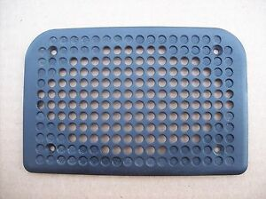Porsche 944 944 Turbo Black Speaker Grill Door Cover Plate