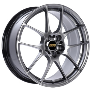 Bbs Rf 18x9 5x100 45mm Diamond Black Wheel Rf520dbk