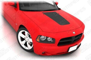 Dodge Charger Hood Center Accent Stripe Decal 2006 2007 2008 2009 2010 Pro Motor