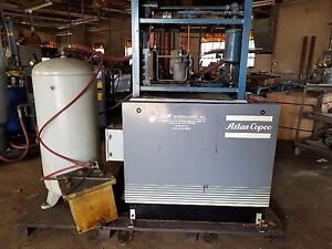 Atlas Copco Air Compressor Model Ga115 With Pioneer Air Dryer