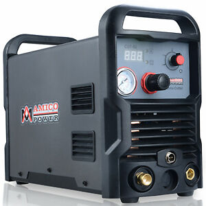 Cut 50 50 Amp Digital Air Plasma Cutter Ac 100 240 Voltage Cutting Machine