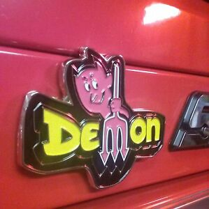 Dodge Demon Magnet for Your Snapon Toolbox 4 1