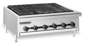 American Range Aerb 24 24 Gas Economy Radiant Char broiler