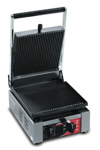 Sirman Elio Ll Single Panini Grill W Flat Top Flat Bottom