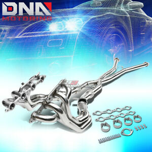 For 97 04 Corvette 5 7l V8 3 stainless Steel 4 1 Long Tube Exhaust Header x pipe