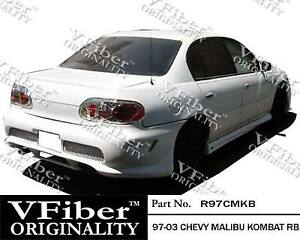 1997 2003 Chevrolet Malibu 4dr Body Kit Kombat Rear Bumper