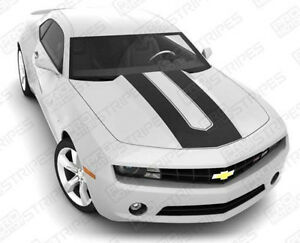 Chevrolet Camaro Sema Style Stripes Hood Trunk Decals 2010 2011 2012 2013