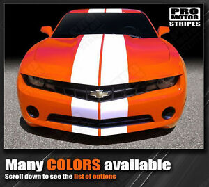 Chevrolet Camaro Pace Rally Racing Stripes Decals 2010 2011 2012 2013 Pro Motor
