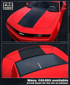 Chevrolet Camaro Factory Style Solid Hood Trunk Decals 2010 2011 2012 2013