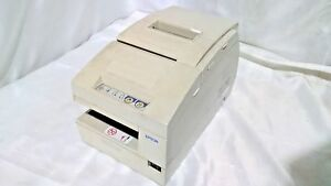Epson Tm h6000 021 Model M147a Ethernet Point Of Sale Thermal Receipt Printer