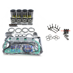 Isuzu 4bd2 4bd2t Engine Rebuild Kit For Npr Nqr Gmc 92 98 Isuzu 3 9l Chevy Truck