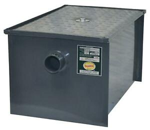 Bk Resources Bk gt 30 30 Lb Grease Trap Interceptor 15 Gallons Per Minute
