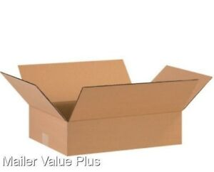 25 16 X 12 X 4 Corrugated Shipping Boxes Packing Storage Cartons Cardboard Box