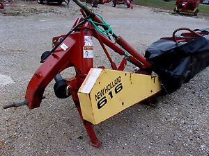 Used New Holland 616 8 Ft Disc Mower Can Ship 1 85 Per Mile