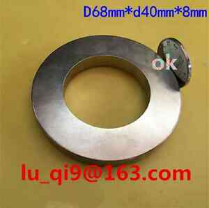 Level A Huge Neodymium Ring Magnet Super Strong N52 Rare Earth Magnet 1 Pcs New