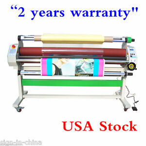 110v 60 Economical Full auto Low Temp Wide Format Cold Laminator Usa Stock
