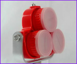 Red Triple Prism With Soft Bag For Topcon sokkia south Total Station Instruments