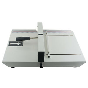Manual Paper Creaser Creasing Machine 350mm A4 Card Covers High Gloss Covers