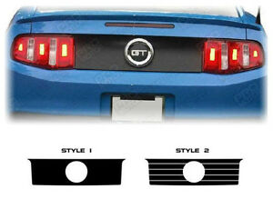 Ford Mustang Rear Deck Trunk Accent Or Blackout Decal 2010 2011 2012 2013 2014