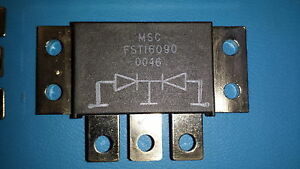 Microsemi Diode Fst16090 schottky Barrier Rectifier 90v 160a 3 pin To 249 one