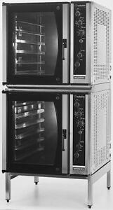 Moffat E35d6 26 2 Electric Dble Convection Oven Full Size W Stationary Stand