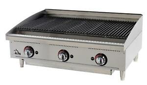Star 6136rcbf Star max Countertop 36in Radiant Gas Charbroiler