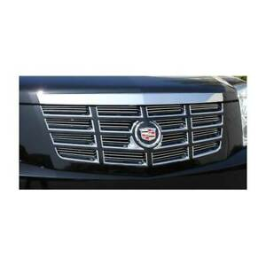 T Rex Polished Billet Series Grille Insert For Cadillac Escalade Esv 07 14