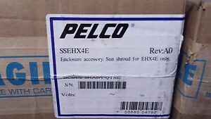 Pelco Ssehx4e Sun Shroud Shield For Use With Ehx4e Enclosure