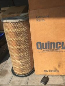 New Quincy Compressor Oem Genuine Part 23458 1 Replacement Air Filter Element