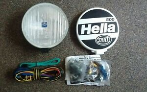Hella 500 Round Driving Light 1 Lens Cover Wiring Kit