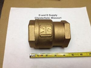 Milwaukee M548tk 2 Threaded Bronze Check Valve New old stock
