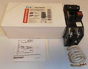 Eaton Cutler Hammer Chq240gf 2 P 40 Amp Classified Circuit Breaker Sqd Qo240gfi