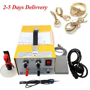 110 220v Jewelry Welding Machine Electric Pulse Sparkle Spot Welder Jewelry Tool
