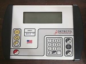 Detecto Scale 758c Digital Weight Indicator Display calibrated To Your Scale