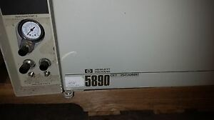 Hp 5890 Gas Chromatograph