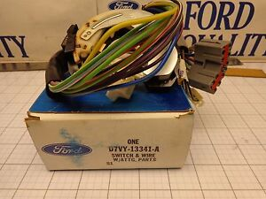 Ford Oem Nos D7vy 13341 A Turn Signal Steering Column Switch Many Lincoln 72 79