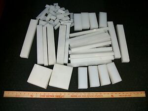 White Hdpe Scraps Hdpe Sheet Stock Hdpe Plastic 17 Pounds