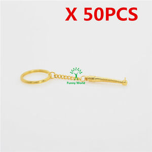 50 Pieces Dental Metal Mini Handpieces Key Chains Dental Dentist Gift Sale