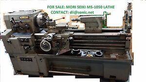 Mori Seiki Ms 1050 Engine Lathe