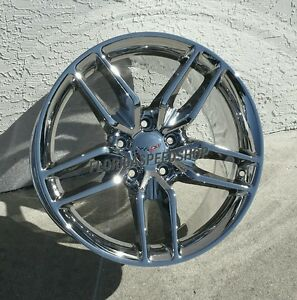 Chrome C7 Z51 Corvette Wheels For 1988 1996 C4 Corvette 93 02 Camaro trans Am